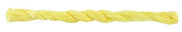 Elisa fil perlé n°5, jaune citron