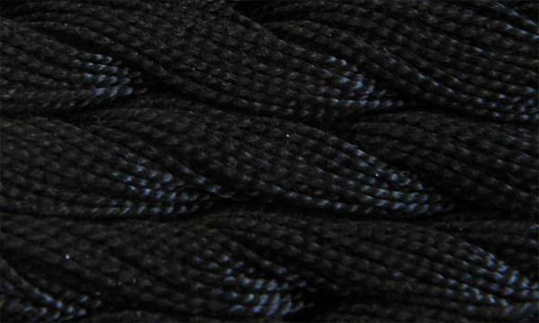 Elisa parelgaren nr. 5, zwart