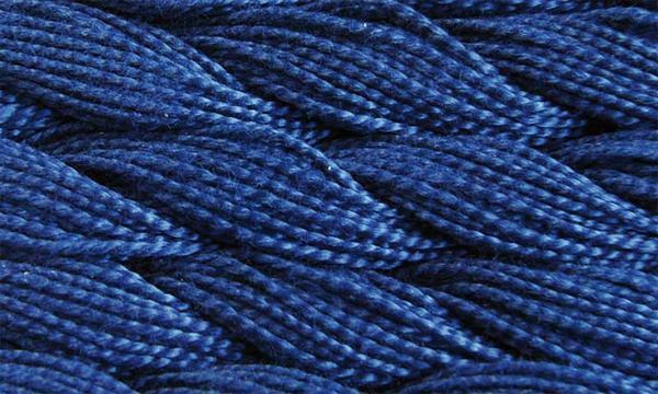 Elisa fil perlé n°3, bleu nuit