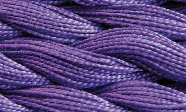 Elisa fil perlé n°3, lilas
