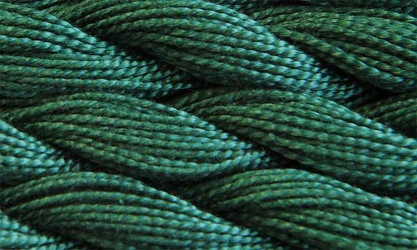 Elisa Perlgarne Nr. 3, dunkelgrün