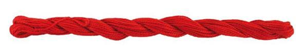Elisa fil perlé n°5, rouge cerise