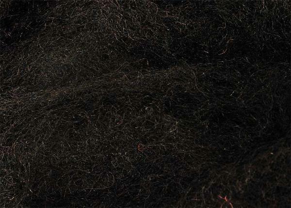 Märchenwolle - 100 g, schwarz