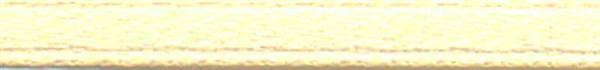 Satinband mit Webkante - 3 mm, beige