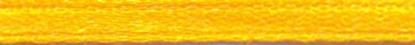 Satinband mit Webkante - 3 mm, gelb