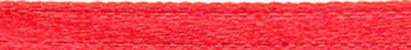 Rubans satin avec lisière - 3 mm, rouge