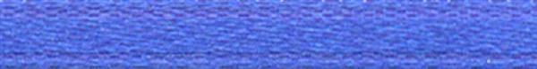 Rubans satin avec lisière - 3 mm, bleu