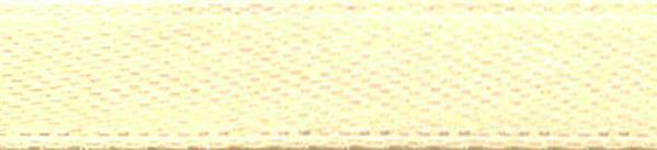 Rubans satin avec lisière - 6 mm, beige
