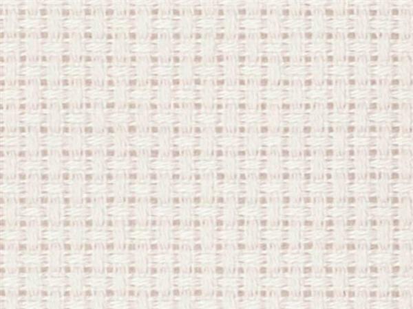 Aida-stof - fijn, 130 cm breed, wit