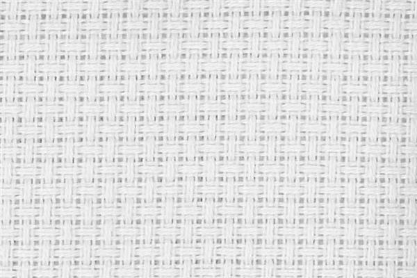 Aida-Gewebe - mittel, 75 cm, weiß