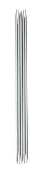 Strumpfstricknadeln Aluminium, Stärke 3