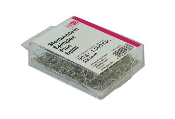 Epingles - 50 g, long. 13 mm, env. 1000 pces