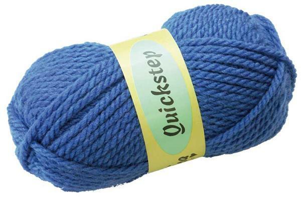 Wol Quickstep - 50 g, blauw