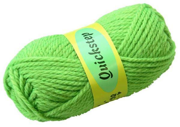 Wolle Quickstep - 50 g, hellgrün