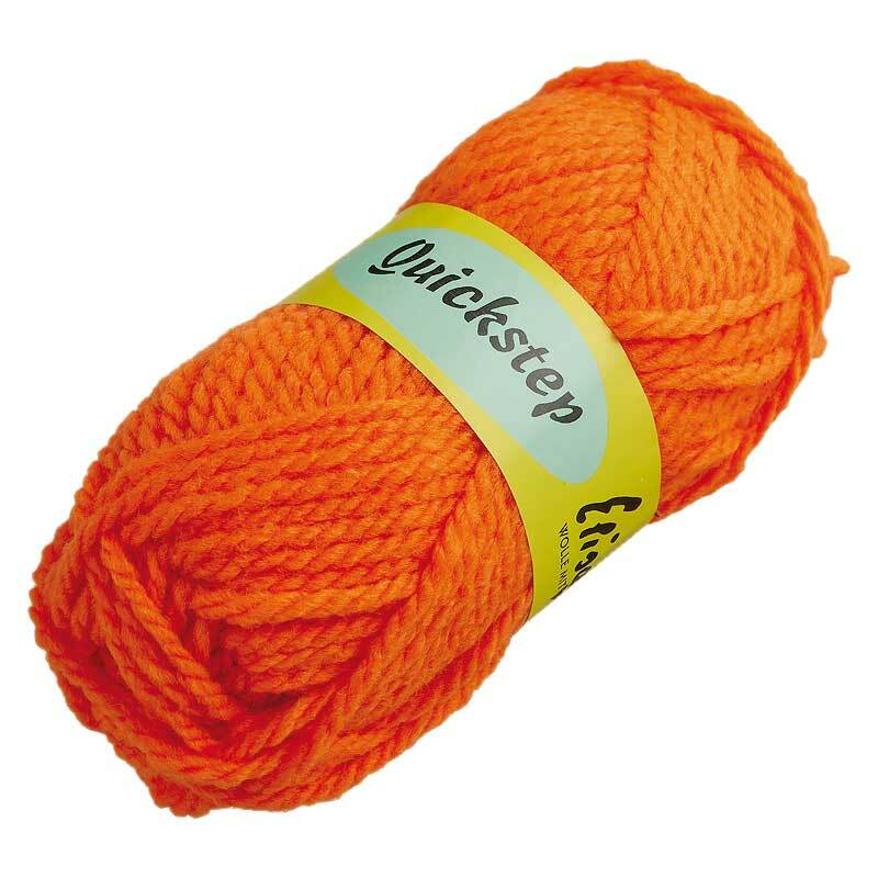 Wolle Quickstep - 50 g, orange