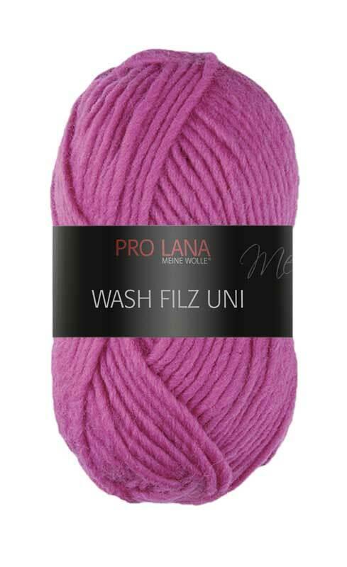 Filzwolle - 50 g, pink
