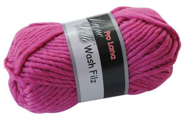 Laine à feutrer - 50 g, pink