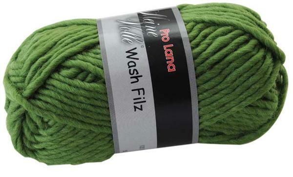 Filzwolle - 50 g, grün