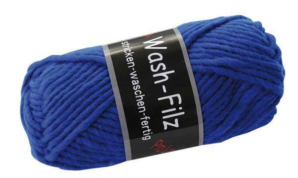 Viltwol - 50 g, koningsblauw