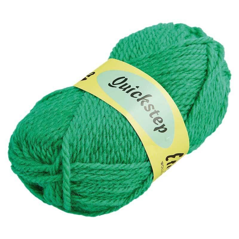 Wol Quickstep - 50 g, groen