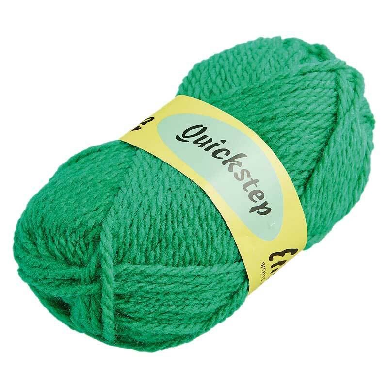 Wolle Quickstep - 50 g, grün