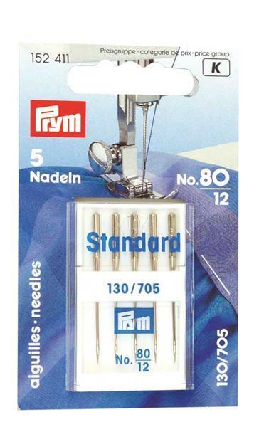Naaimachinenaalden standaard - gr. 80, 5 st.