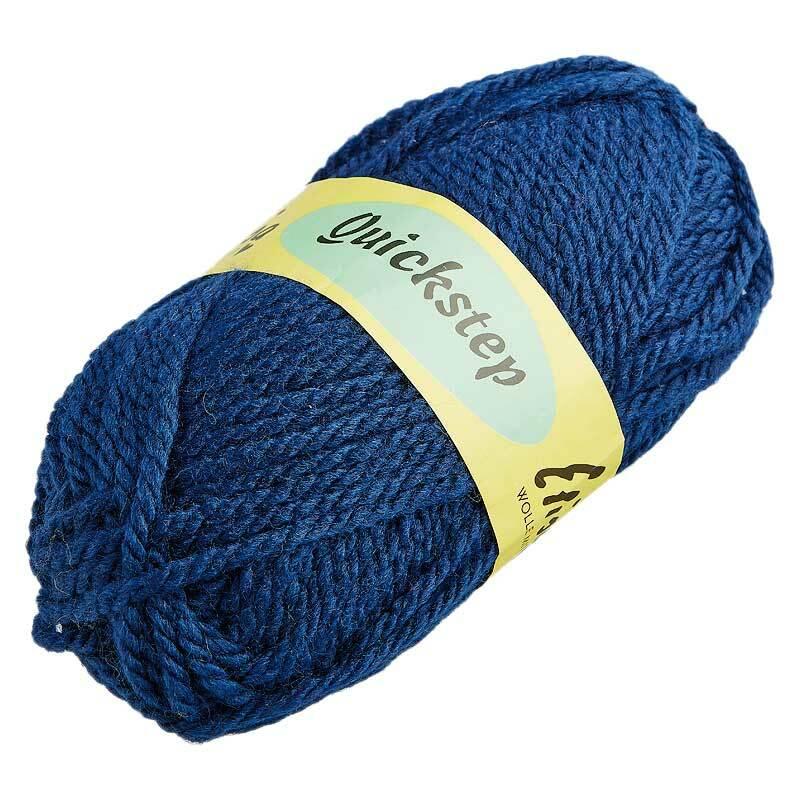 Wol Quickstep - 50 g, donkerblauw