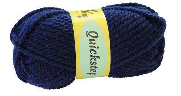 Laine Quickstep - 50 g, bleu fonçé