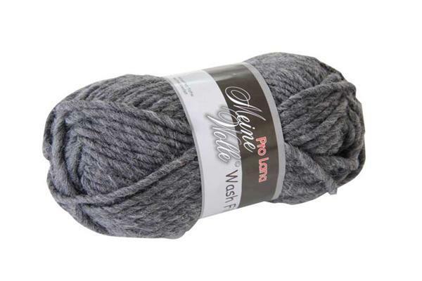 Viltwol - 50 g, antraciet