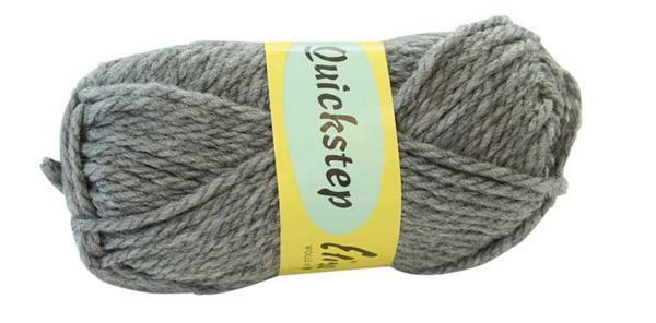 Wolle Quickstep - 50 g, grau