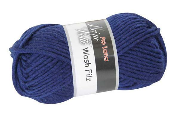 Viltwol - 50 g, donkerblauw