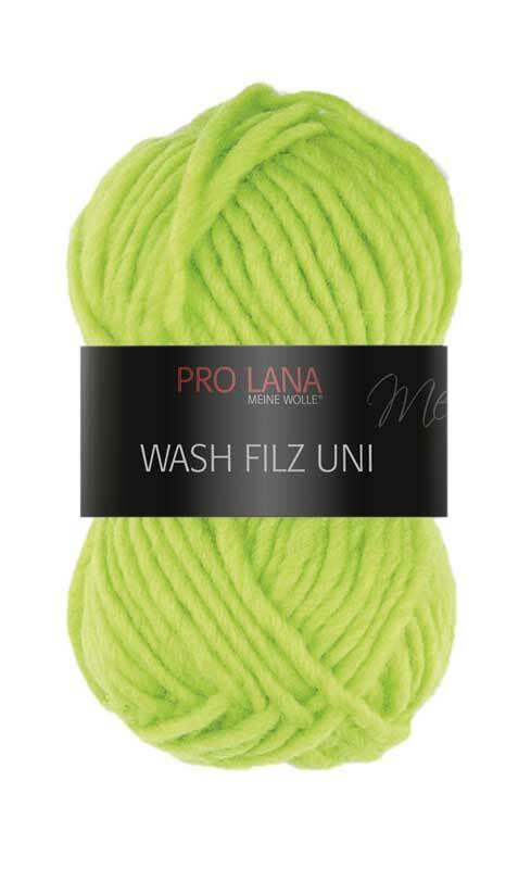 Filzwolle - 50 g, hellgrün