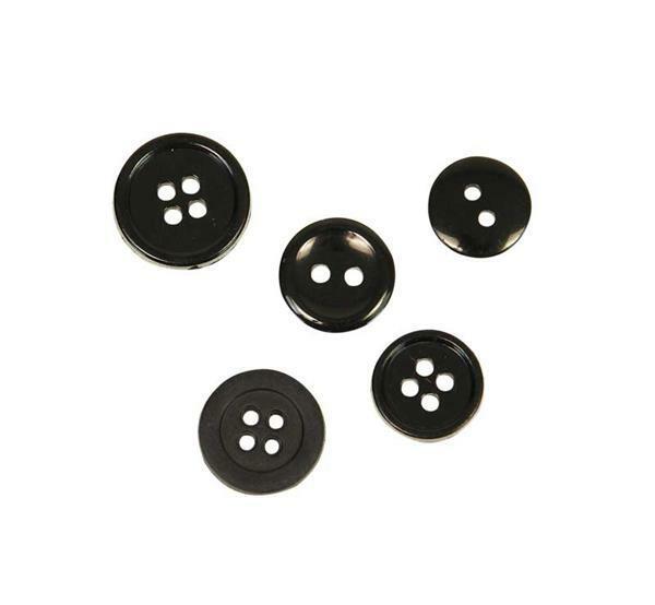Boutons - Ø 10 - 15 mm, noir