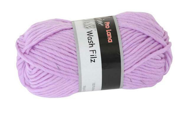 Filzwolle - 50 g, lavendel