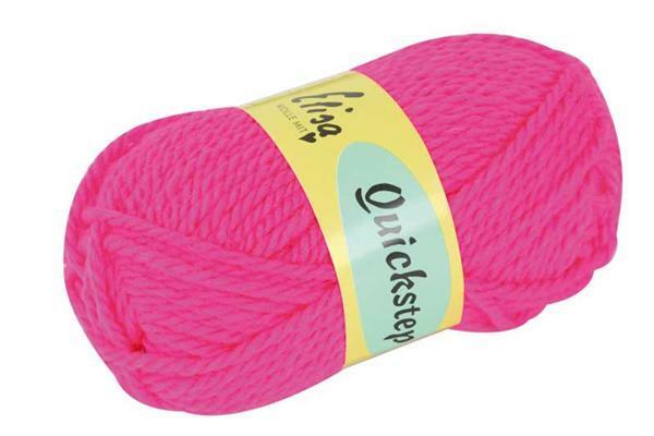 Laine Quickstep - 50 g, pink néon