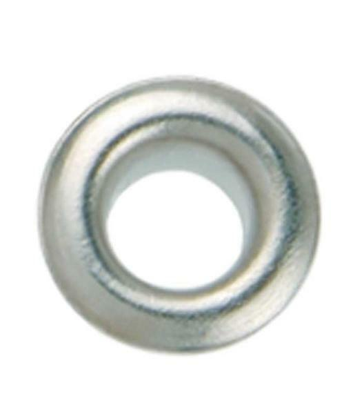 Eyelets - 4 mm, 50 st., zilver