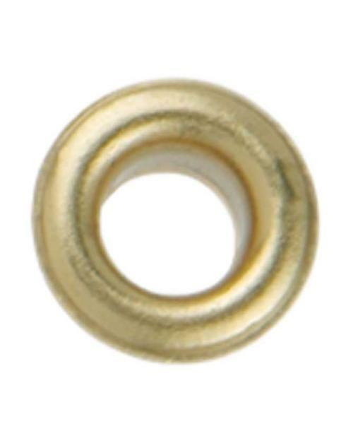 Ösen - 4 mm, 50 Stk., gold