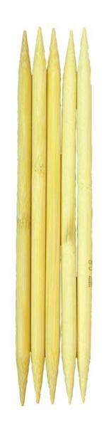 Strumpfstricknadeln Bambus, Stärke 8