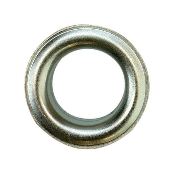 Eyelets - 11 mm, 15 stuks, zilver