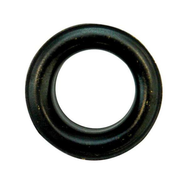 Eyelets - 11 mm, 15 stuks, gebruneerd