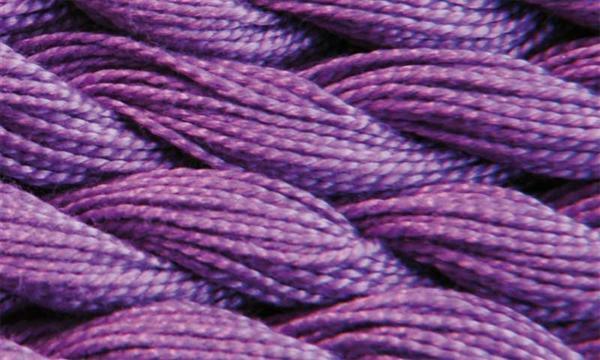 Elisa fil perlé n°3, cyclamen