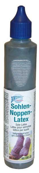 Sohlen Noppen Latex - 88 ml, hellgrau