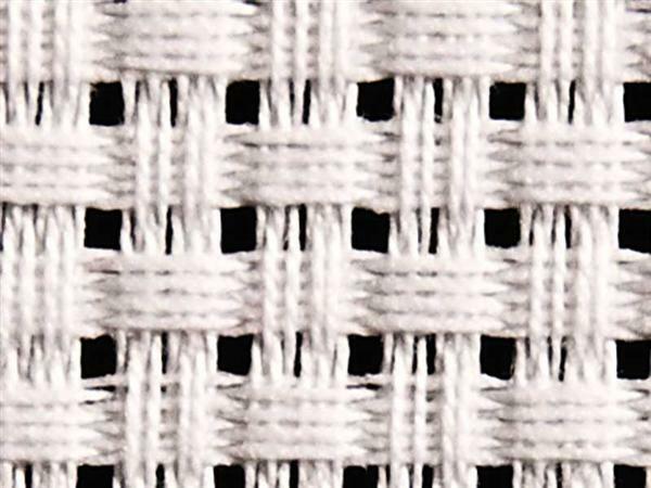 Aida-Gewebe - grob, 130 cm, weiß