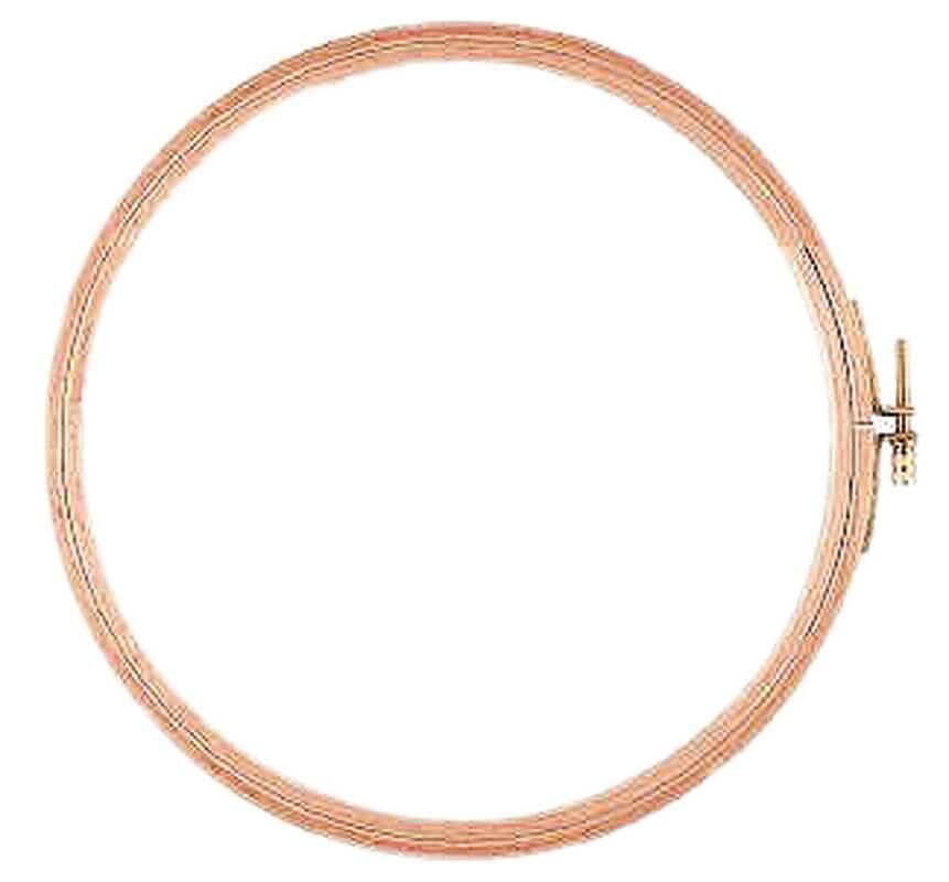 Borduurring, Ø 18,5 cm
