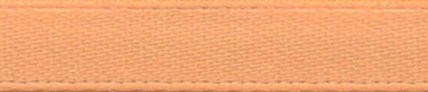 Satijnlint met zelfkant - 6 mm, goud