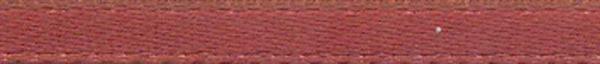 Satijnlint met zelfkant - 3 mm, bruin