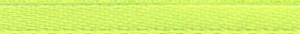 Satijnlint met zelfkant - 3 mm, lichtgroen