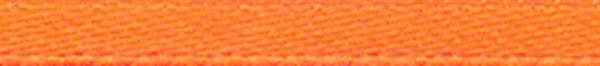 Satinband mit Webkante - 3 mm, orange