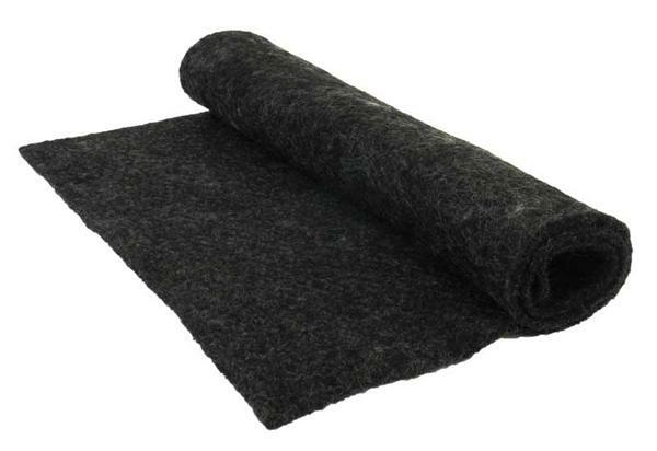 Naaldvilt-fleece - 40 x 60 cm, anthraciet