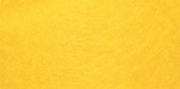 Filzband - 15 cm breit, gelb